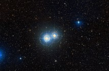 Оптички двојна ѕвезда Alpha Capricorni. Заслуги:  WikiSky