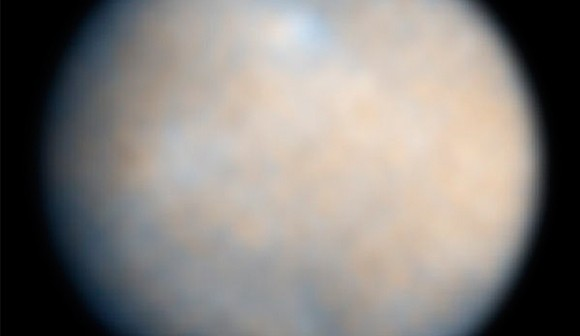 Церера - фотографија напревена од телескопот Хабл