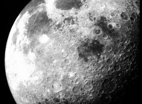 Месечината сликана од  Apollo 12