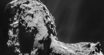 Мозаик од слики направени на 20 ноември. Извор: ESA/Rosetta/NAVCAM – CC BY-SA IGO 3.0