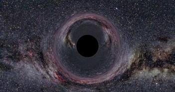 Симулирана Црна дупка. Заслуга: Wikimedia CommonsCC By SA 2.5