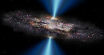 Огромна црна дупка ги порекнува современите теории за развитокот на галаксиите