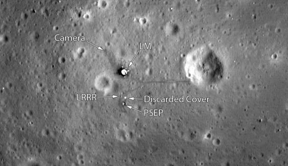 Погледнете како денес изгледа местото каде што слета Аполо 11