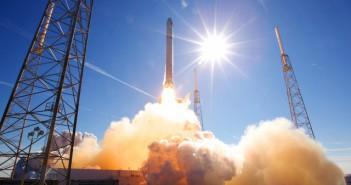 Лансирање на Фалкон 9 ракетата. Извор: НАСА/Space X.