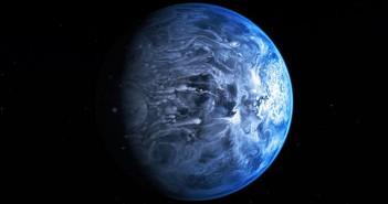 Уметничка илустрација на HD189773 Ab. Извор: НАСА