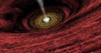 Времето можеби тече наназад во црните дупки