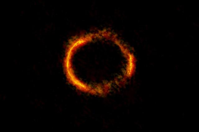 Далечно формирање на ѕвезди видено како никогаш досега