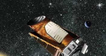 Уметничка илустрација на Кеплер со далечен соларен систем. Извор: НАСА.