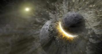 Создавањето на Месечината било подраматично од досегашните мислења