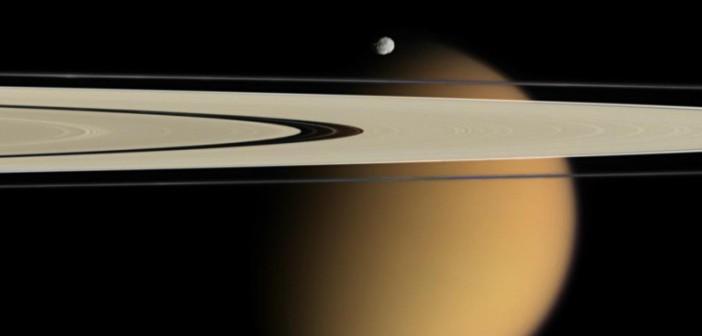 Касини се подготвува за последното нурнување во атмосферата на Сатурн