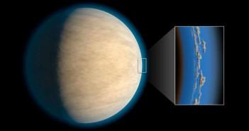 Зад облаците на егзопланетите може да се крие вода
