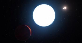 Таму е вечно ден: Откриена планета во состав со три ѕвезди