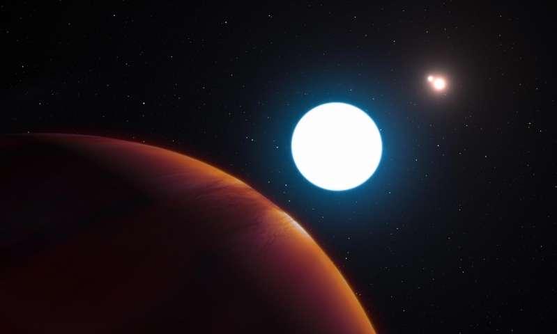 Новооткриена планета има три сонца