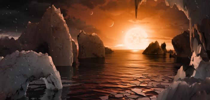 НАСА открива седум планети со голeмина на Земјата во систем оддалечен од нас 40 светлински години