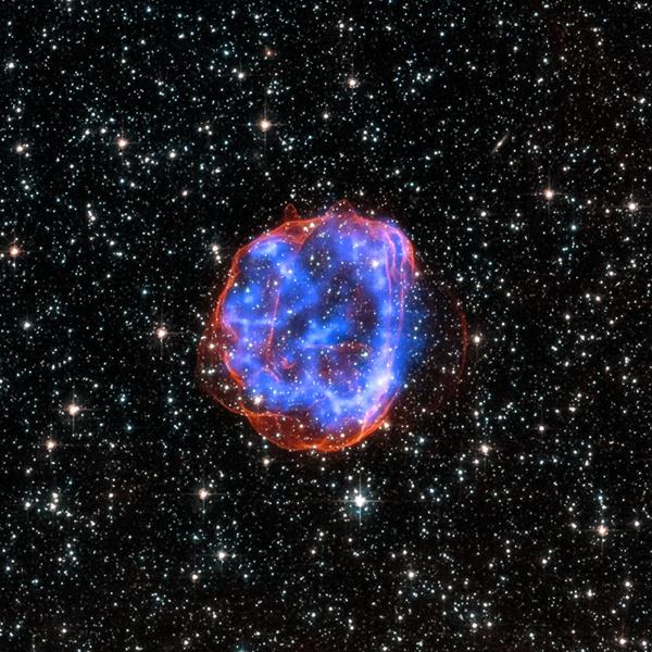 Забележани се најраните моменти на супернова експлозија