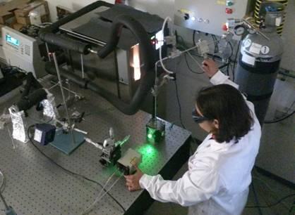 Научниците направија лабораториска симулација на екстремните усови на течните басени на Европа. Извор: CAB (INTA-CSIC)
