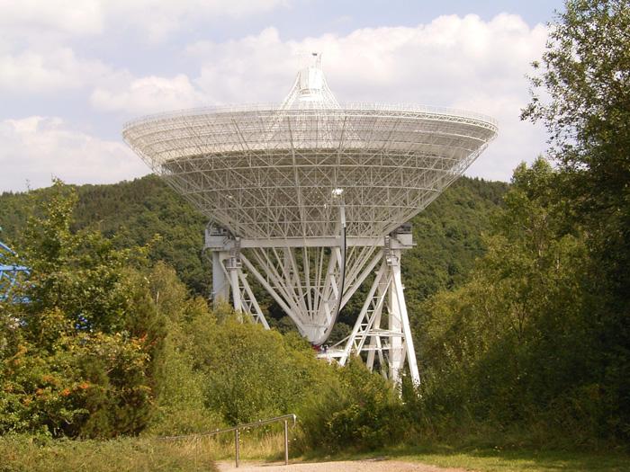 Effelsberg Radio Observatory. Авторски права: Frank Vincentz