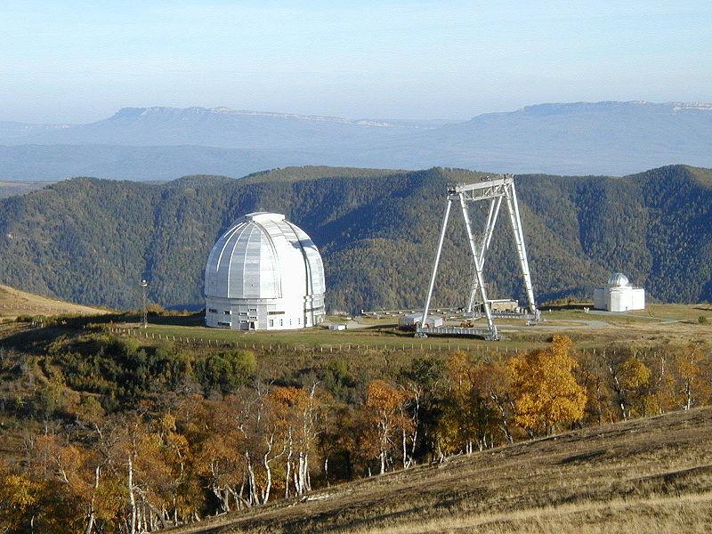 6 метарскиот телескоп на руската SAO обсерваторија.