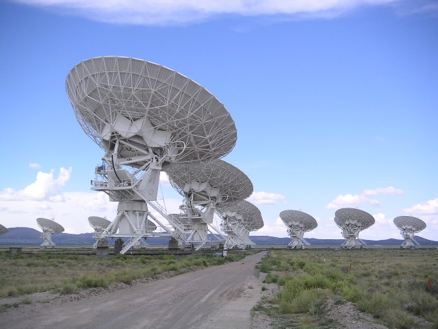 Very Large Array. Авторски права: Hajor