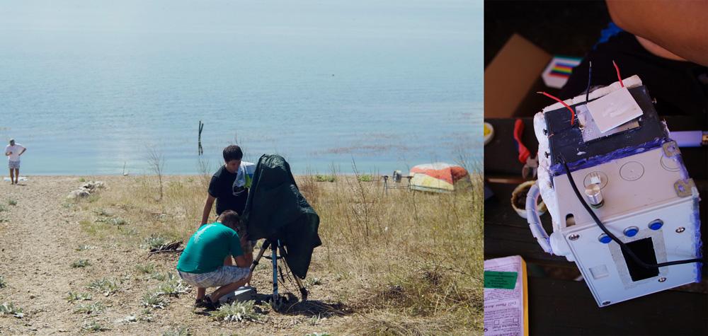 Астрофотографите ја монтираат камерата