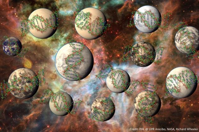 Во Млечниот пат има 100 милиони места погодни за развој на комплексен живот