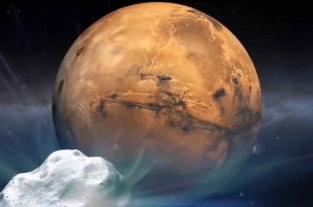Комета ќе му се доближи на Марс