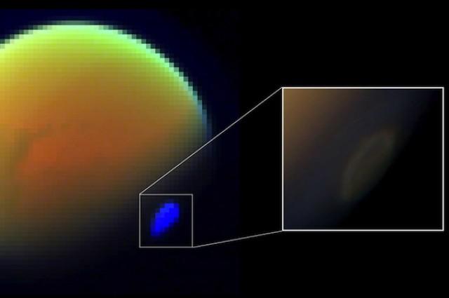 Голем облак од цијанид лебди над Титан