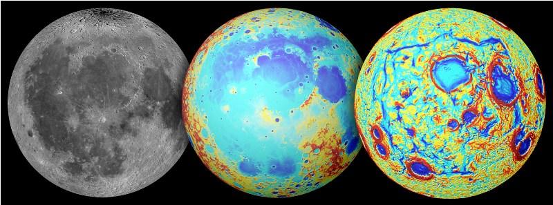 Вулканско излевање го создало најголемиот басен на Месечината