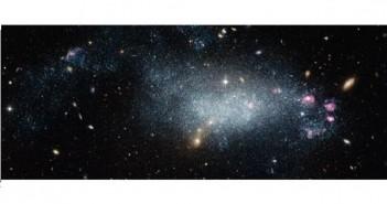 Млада галаксија ги буни астрономите