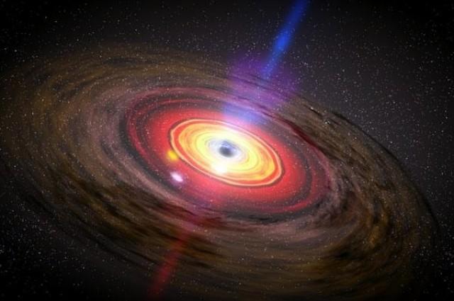 Ѕвезда успеа да избегне црна дупка