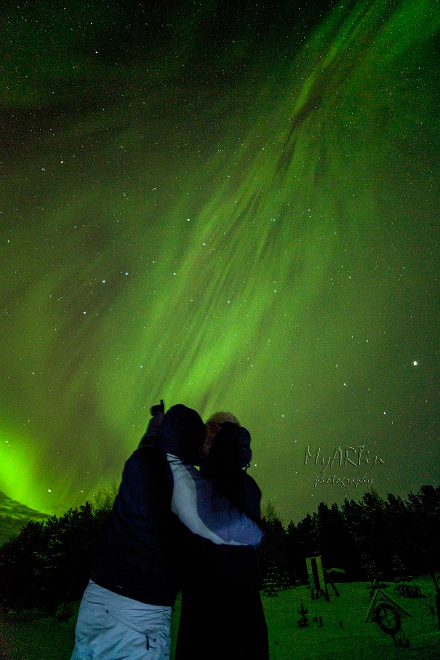 Фино е во Финска - патувањето на Марија и Мартин под Аурорите