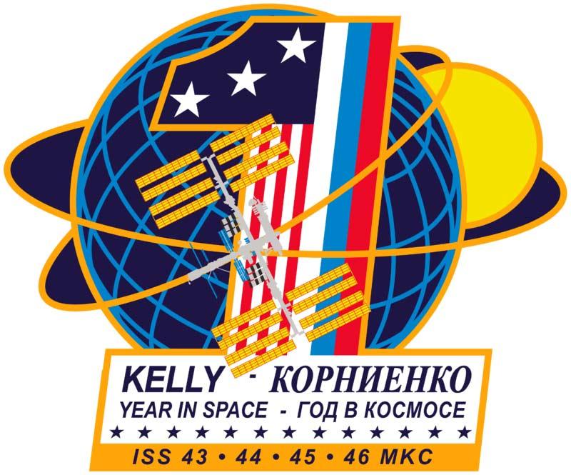 Амблемот за едногодишната мисија