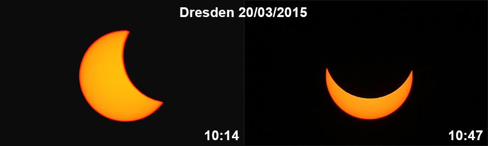 Затемнувањето проследено од нашиот член Филип Парталовски од Дрезден - Германија.