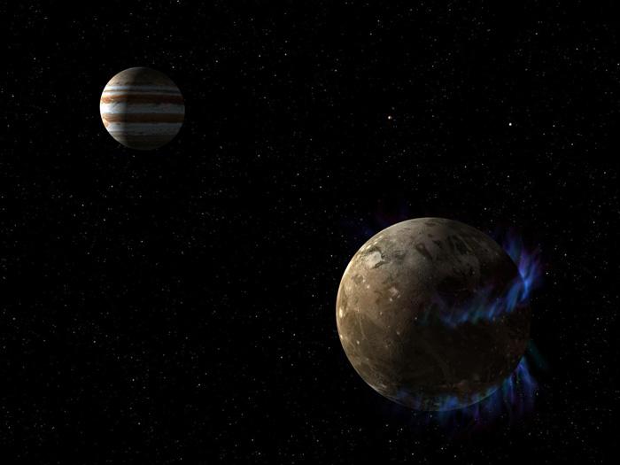 Под површината на најголемата јупитерова месечина Ганимед веројатно се крие океан