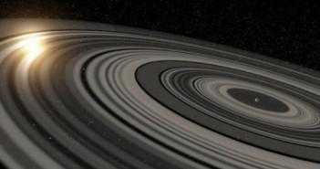 """Новооткриениот """"супер-Сатурн"""" има огромен систем со прстени"""