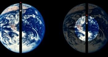 Колку долго би пропаѓале низ центарот на Земјата?