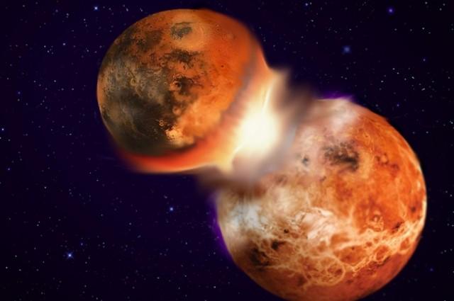 Како се создала Месечината?