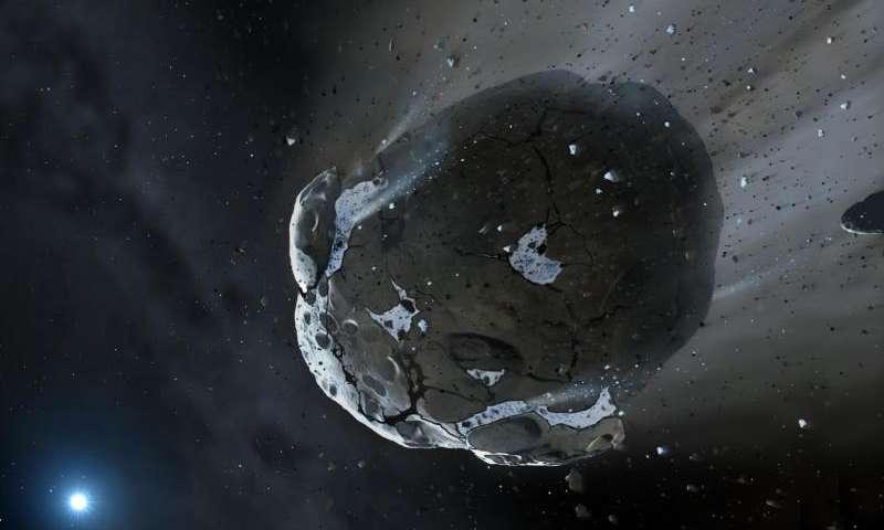 Нови докази за потеклото на водата на Земјата