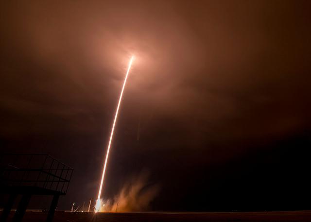 Лансирање на леталото СојузTMA-16M кон Меѓународната Вселенска Станица (МВС). Photo Credit (NASA/Bill Ingalls)