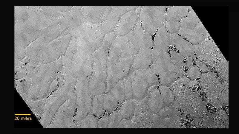 """""""Мелем за очи"""": Замрзнати полиња во срцето на Плутон"""