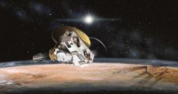 Пепелта на астрономот се приближува до ледениот свет којшто тој го откри: Плутон