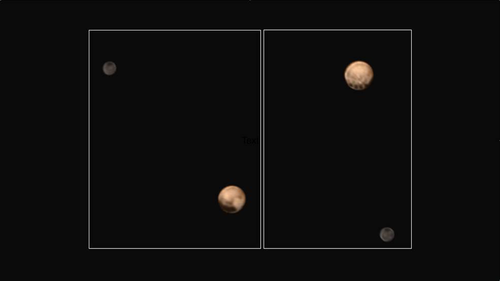 Откриени мистериозни дамки на Плутон