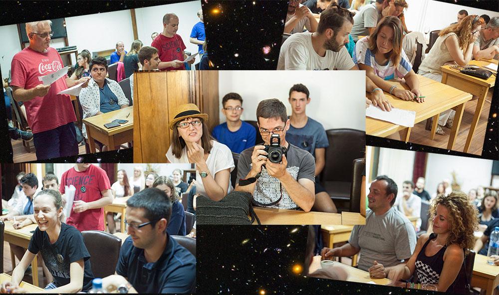 Наградените учесници од астроквизот и потрагата по микрометеорити. Заслуги (колаж): Марија Стојановска