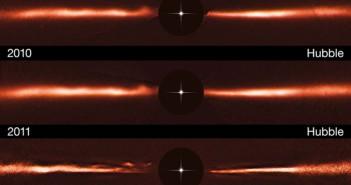 Мистериозни појави во регион на создавање на планети