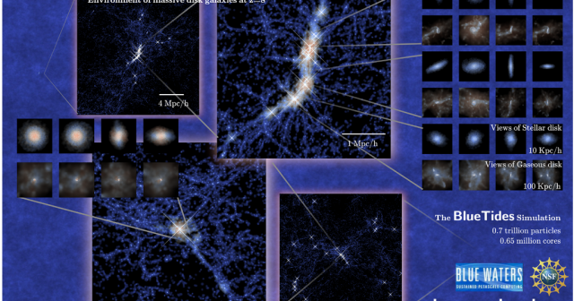 Галаксии слични како Млечниот Пат имало и во раниот Универзум