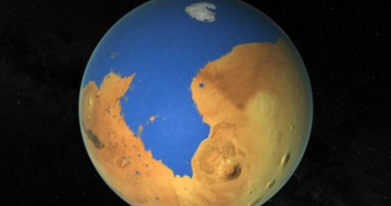Докази за две древни цунамија на Марс