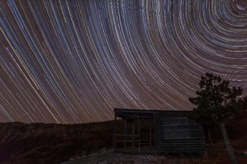 Ѕвездени траги и колиба (Рудине)