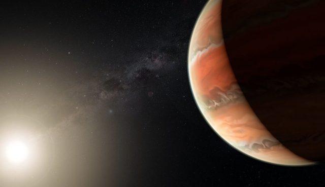 Детектиран титаниум оксид во атмосферата на егзопланета