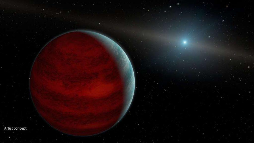 Брзо-ротирачка ѕвезда и планетата што не треба да постои