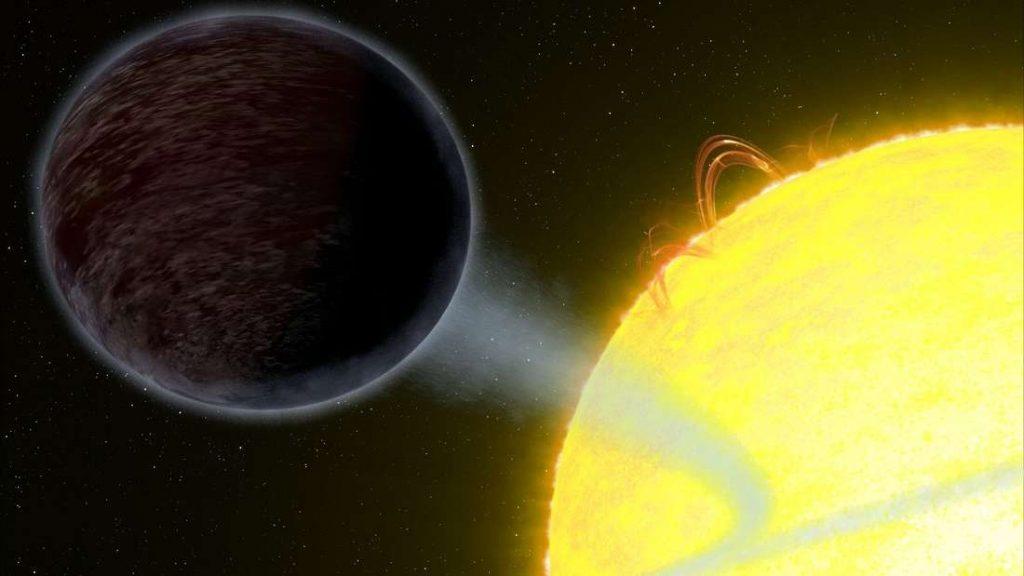 Хабл пронајде целосно црна планета